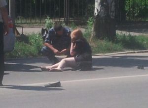 Сотрудника полиции в Волжском сбила машина