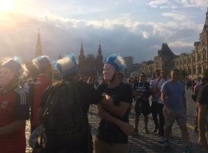 Волжанка оказалась в самом центре «футбольной истерии» в Москве