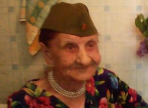 В Волжском с Днем Победы поздравили отважную связистку Надежду Шустову