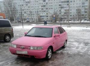 Автолюбители посмеялись над «розовой мечтой» волжанина
