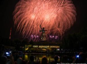 Волжане оценили салют Победы в Волгограде