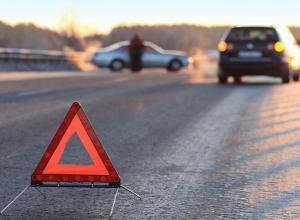На «танцующем» мосту в Среднеахтубинском районе пострадала автоледи