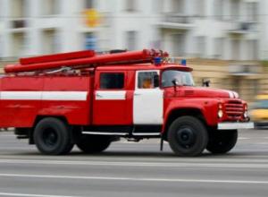 В Волжском сгорел балкон пятиэтажки