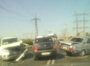 Утренняя пробка и мощная авария на ГЭС «порадовали» волжан