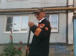 «Звездный» дворник из Волжского отругал сборную России