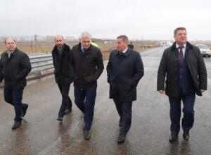 Временное движение по новому мосту через Ахтубу пообещали запустить к Новому году