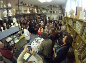 Волжан пригласили на бесплатный мастер-класс по литью из гипса в музей Малкова