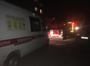 Волжанам пришлось самим тушить пожар на улице Машиностроителей