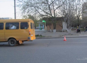 14-летняя пассажирка маршрутки пострадала в ДТП в Волжском