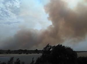 Крупные пожары бушуют в окрестностях Волжского: горят поселки Красный и Погромный