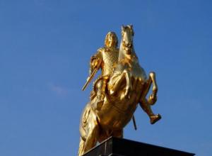 На берегу Ахтубы зарыты золотые кони Батыя, - кладоискатель
