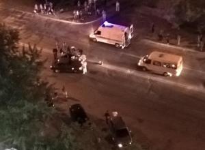 Пострадавшего под колесами «десятки» увезли на «скорой» в Волжском