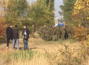 Поисковая операция постепенно затухла на улице Пушкина в Волжском
