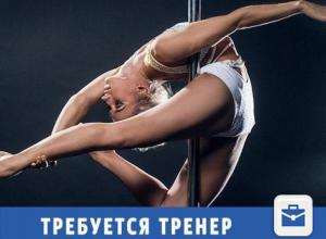 В волжский фитнес-центр требуются тренера по Pole Dance, шестовой акробатике и стрип-пластике