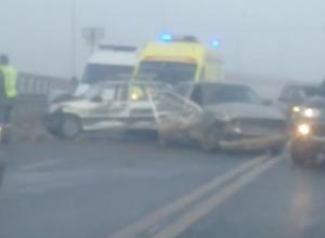 Массовая авария на мосту через Волжскую ГЭС произошла в субботнее утро
