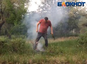 Подростки пытались сжечь Волжский