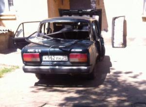 Автомобильные вандалы орудуют по ночам в Волжском