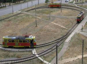Волжская автоколонна ограничит движение трамваев в Волжском