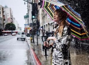 Проливной дождь ожидается в Волжском все выходные