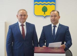 Новый мэр Волжского принес присягу на верность городу