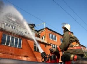 Добротной бани из-за неисправного дымохода лишились волжане