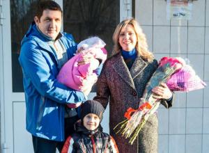 Поздравляем Ивана и Ирину Шипко из Волжского с рождением дочки