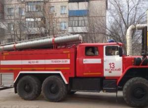 В Волжском вспыхнула квартира в пятиэтажке на Набережной