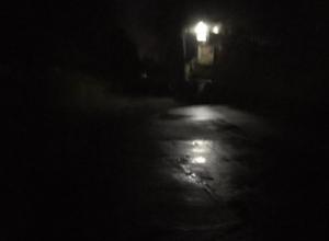 Проблема освещения улиц ночью приносит свои «плоды» в Волжском