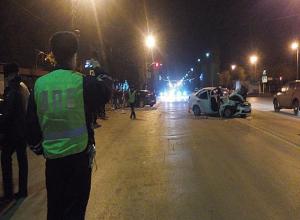 Молодая волжанка получила серьезную травму головы в столкновении двух авто