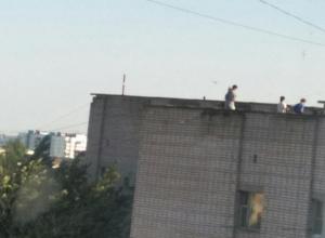 Молодые руферы «захватили» крыши Волжского