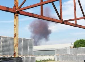На судоремонтном заводе в Волжском произошел взрыв