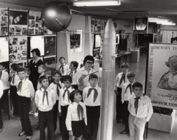 Маленький музей космонавтики в Волжском дал название целой улице