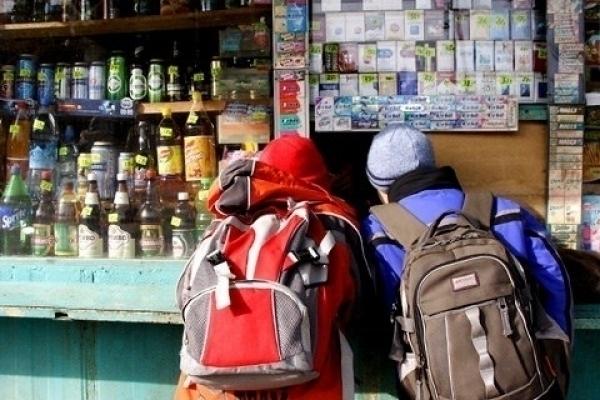 В Камышине несовершеннолетним продают спиртное