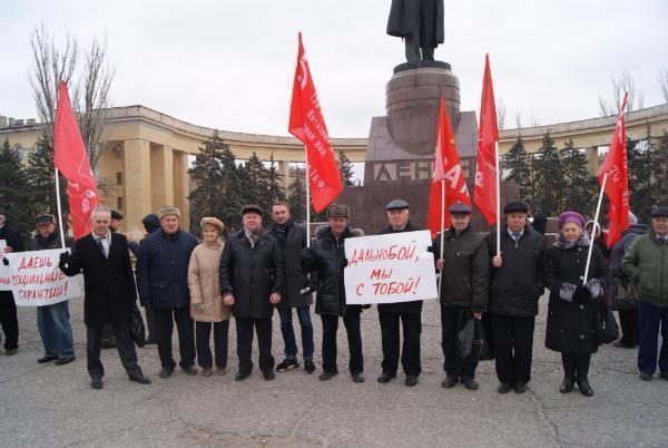 Волгоградские коммунисты считают, что «Платон» должен уйти вместе с Правительством