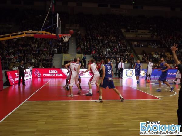 Баскетбольный флагман Волгоградской области обыграл литовцев