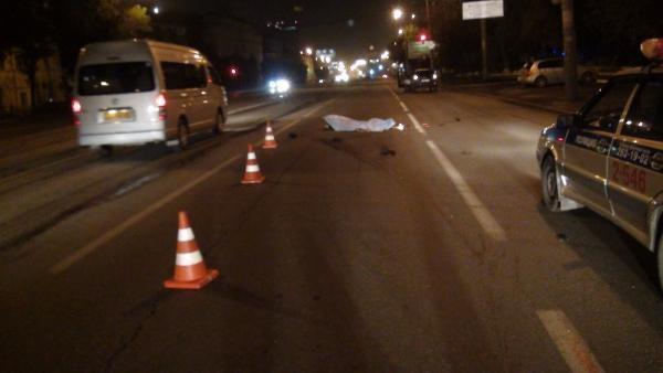 На трассе в Средней Ахтубе «Хендай» насмерть сбил женщину