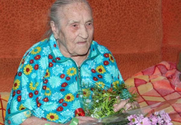 Волжанка отметила свой 105-летний юбилей