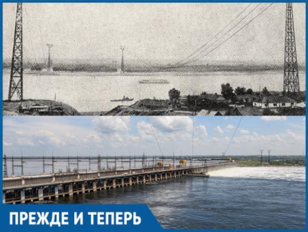 Волжский и Волгоград соединял воздушный переход