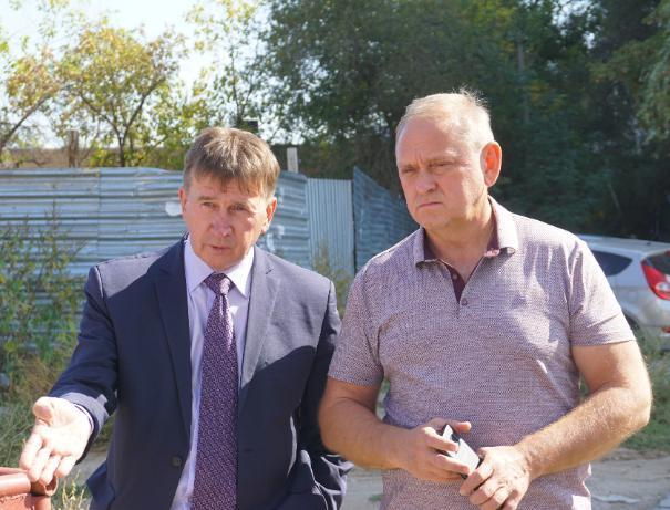 Председатель ТСЖ встретился с мэром ради жителей Волжского