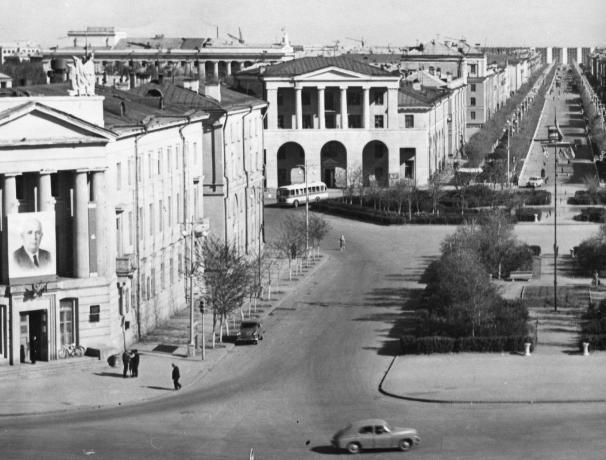 Улица Логинова появилась пятьдесят пять лет назад