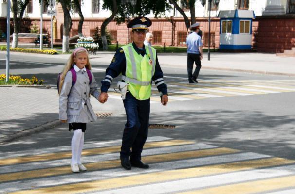 Полицейские Волжского тоже готовятся к 1 сентября