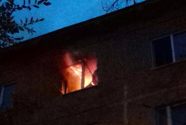 Напожаре вВолжском едва не умер 55-летний курильщик