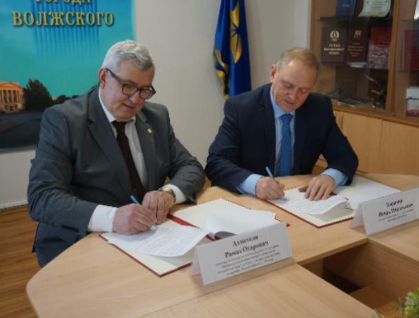 В Волжском подписали Соглашение об оказании паллиативной помощи