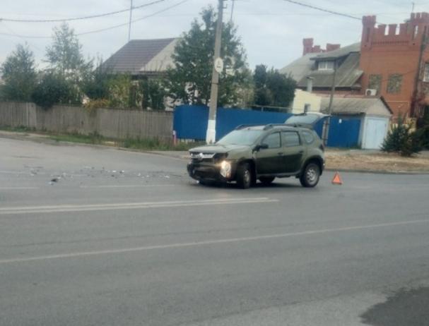 21-летняя автоледи потеряла сознание после ДТП в Волжском