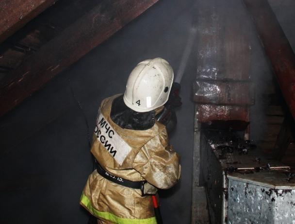 Неисправный обогреватель сгубил дачный домик в Волжском