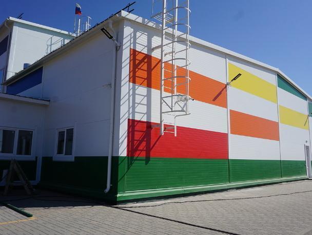 Под Волжским появился новый спортивный комплекс