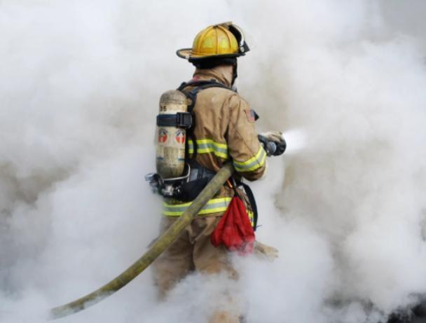 Пожарные ликвидировали возгорание в Среднеахтубинском районе