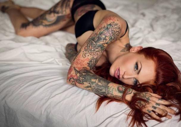 Топ-5 сексуальных волжанок с самыми необычными татуировками
