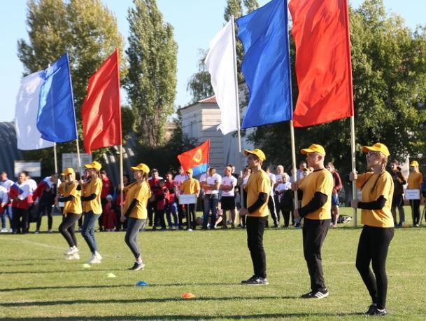 Жители Средней Ахтубы стали золотыми призерами спортивных игр