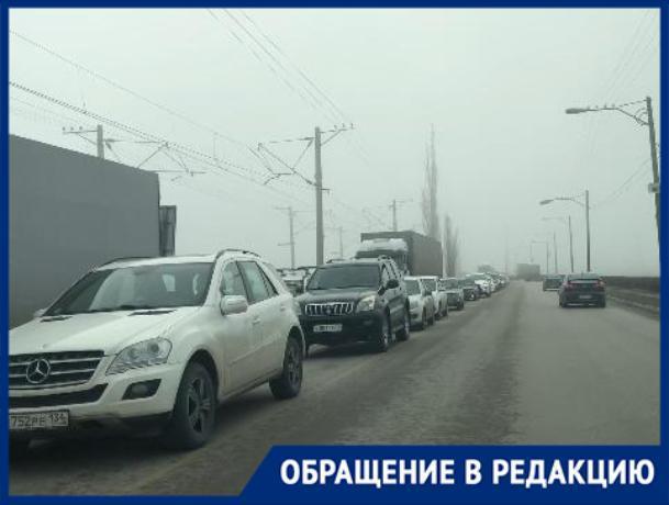 «В пробке на ГЭС виноваты сами водители», - волжанка